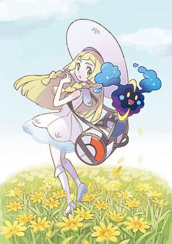 Pocket-Monsters-Sun-Moon-Cosmog-Lillie-Pokémon-Figure-Series-Kotobukiya-Official-Art-01